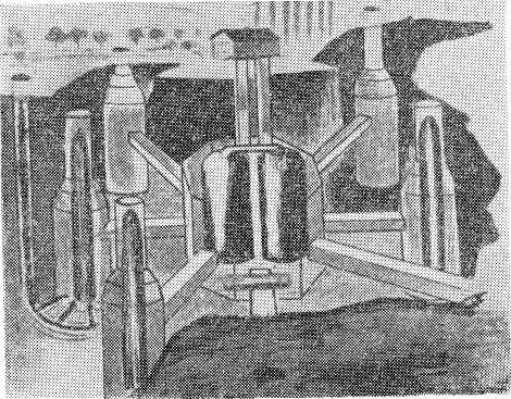 Возможный вариант расположения стартовой площадки межконтинентальных баллистических ракет под водой