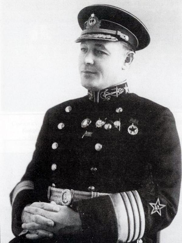 Н.Г. Кузнецов, Москва, 1941 г.