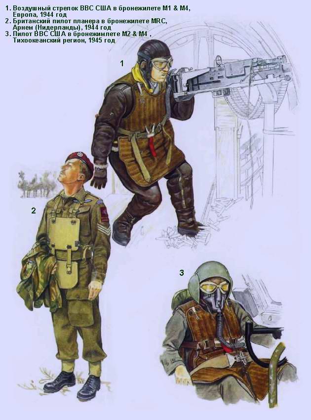 Бронежилеты Второй Мировой войны