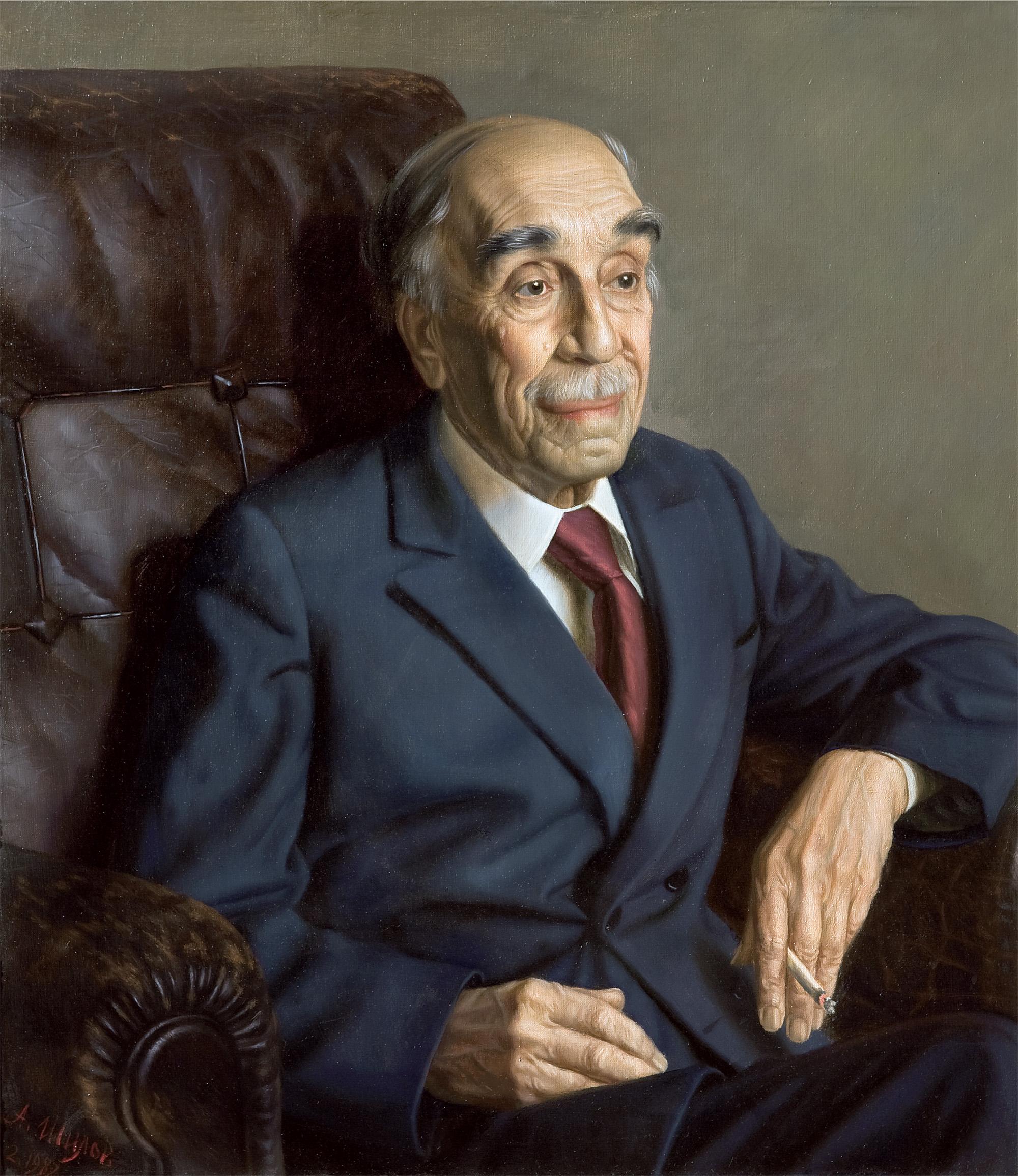Академик Н.Н. Семёнов