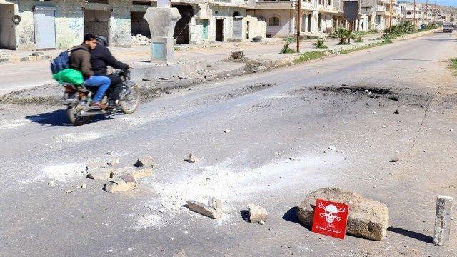 """""""Использование"""" правительственными войсками Сирии химического оружия"""