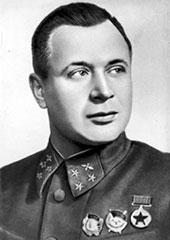 Командующий ВВС Ленинградского фронта генерал-майор авиации А.А. Новиков