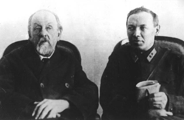 Циолковский Константин Эдуардович и Клеймёнов Иван Терентьевич