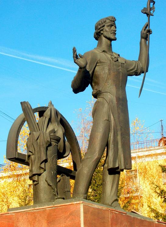 Памятник Ивану Николаевичу Бушуеву в г. Златоуст