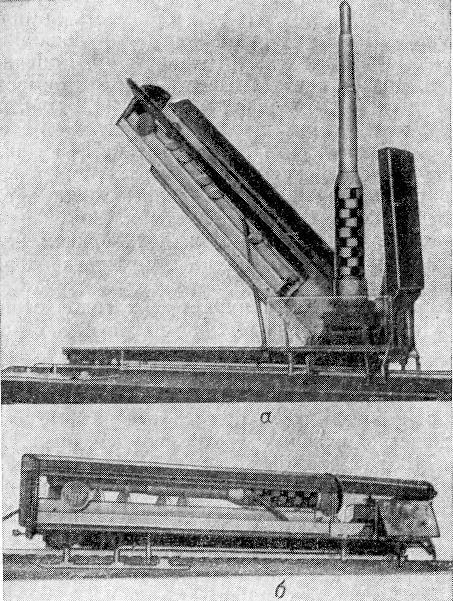 Модель транспортно-пускового вагона железнодорожного комплекса