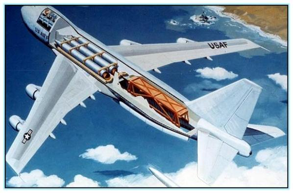 Проект переоборудования МС-747 в носитель баллистических ракет