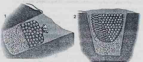 Камнеметные фугасы