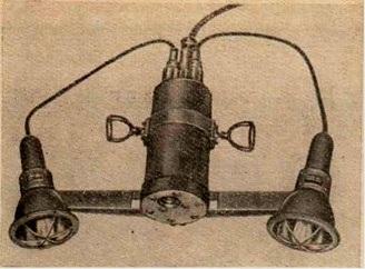 Портативная подводная камера фирмы ИБАК