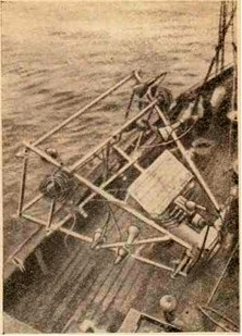 Передающая камера на раме подводной телевизионной установки Шотландской морской биологической ассоциации