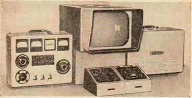 Приёмная и контрольная аппаратура подводной телевизионной установки «Ингатлас-4»