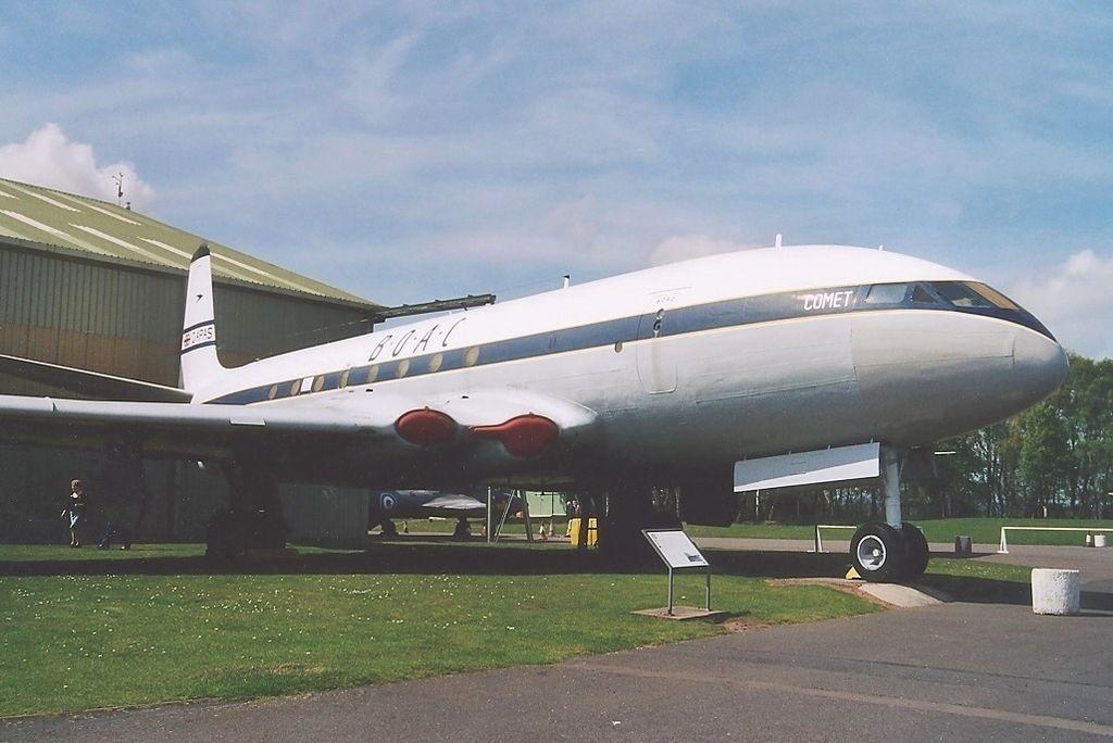 Британский пассажирский самолёта «Комета-1» (DH-106 «Comet 1»)