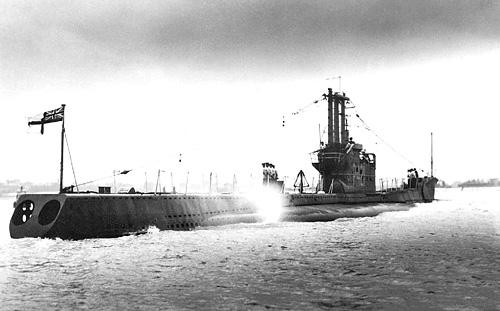 Подводная лодка ВМС Великобритании «Эфрей» (Р-421 «Affray») типа «Эмфион»