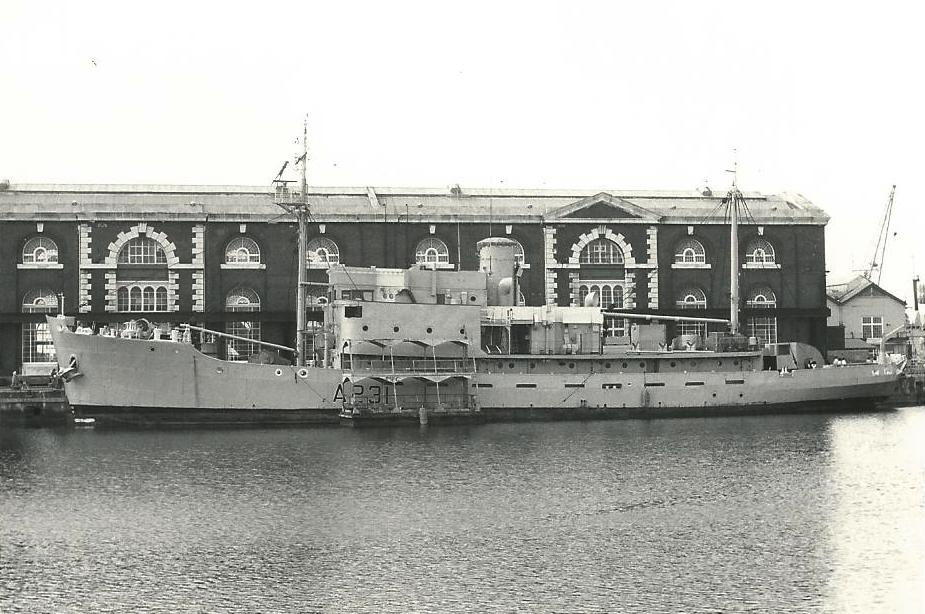 Спасательное судно британского флота «Реклейм» (А-231 «Reclaim»)