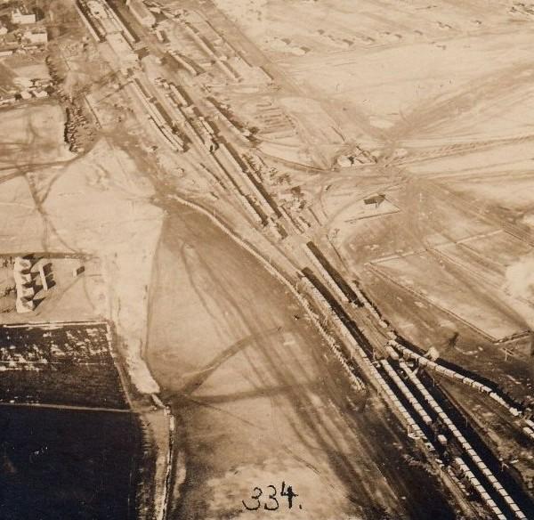 Снимок, сделанный  аэрофотоаппаратом Ульянина