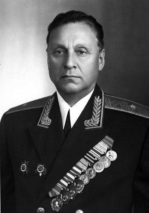 Генерал-майор Рогаткин Михаил Иванович