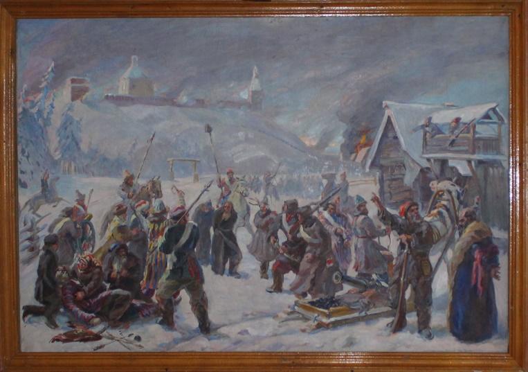 Осада Далматовского монастыря