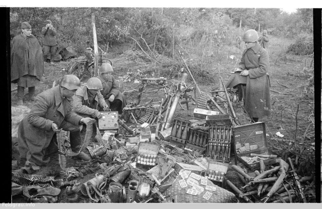 Трофеи Красной армии