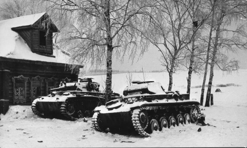 Разгром немцев под Москвой